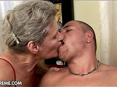 horny and wet, hot grandmother xxx movie