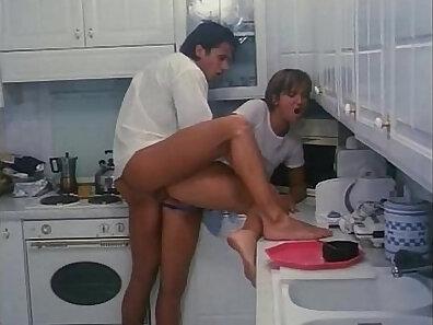 kitchen fuck, naked italians, vintage in high-quality xxx movie
