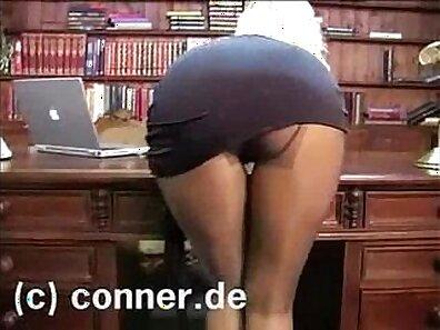 office porno, women in pantyhose xxx movie