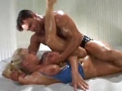 hunter porn, latex fetish, oiled, wrestling sex xxx movie